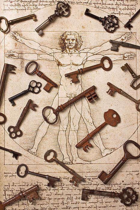 Keys On Artwoork Print by Garry Gay