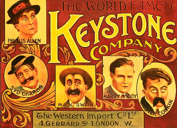 Keystone Film Company, Promotional Print by Everett