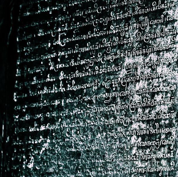 Connor Duffy - Khmer Script