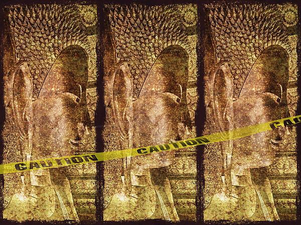 Kill The Buddha Print by Skip Nall