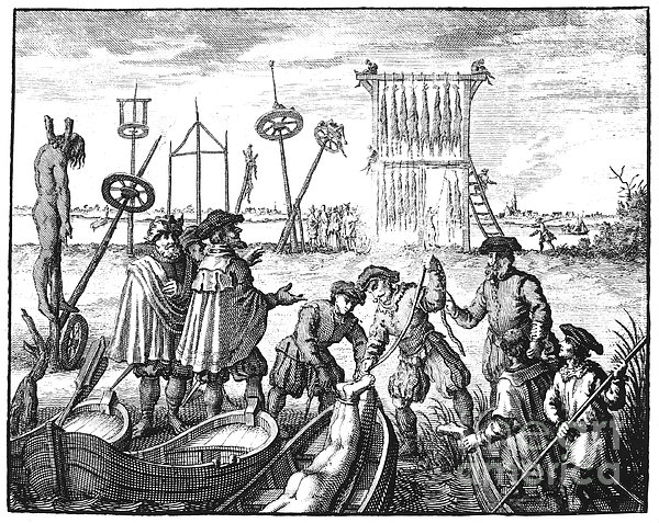 Killing Of Anabaptists Print by Granger