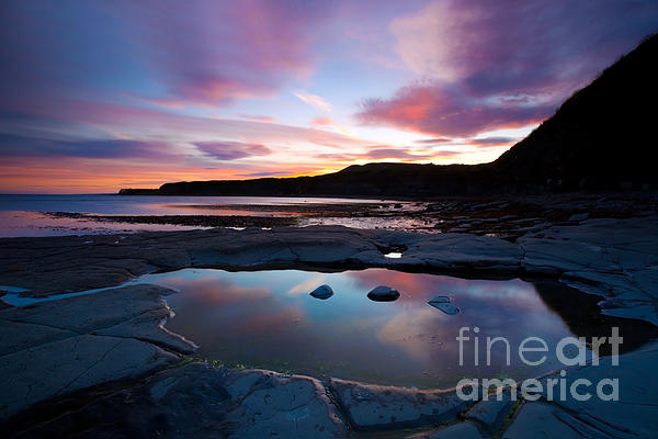 Kimmeridge Colours Print by Jan Allen