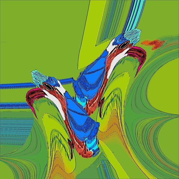 Jamie ian Smith - Kingfishers In Art