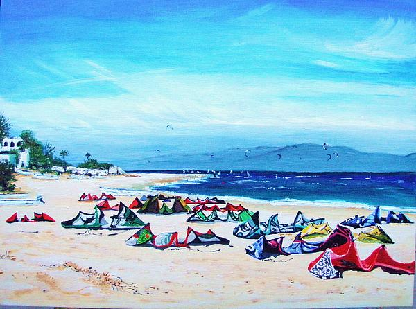 Sharon Hamann - kite beach Baja