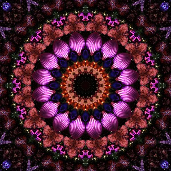 Klassy Kaleidoscope Print by Lyle Hatch
