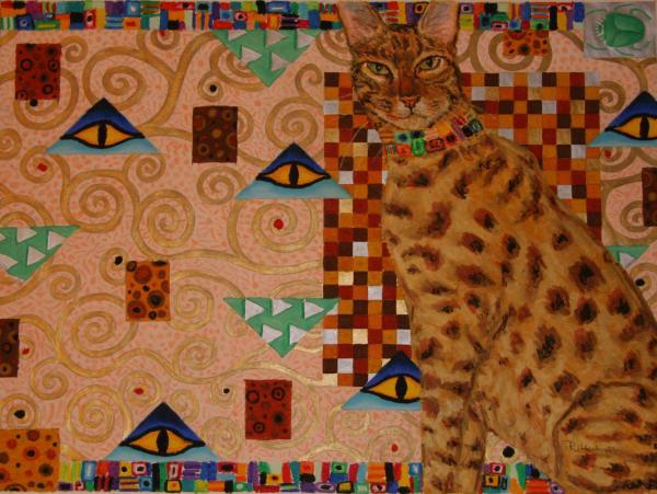 Animaux-totem et symbolique des animaux Klimt-cat-suzanne-frie