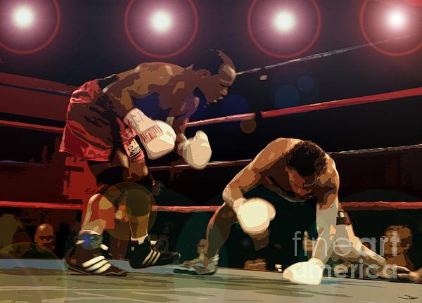Knockdown Print by David Lee Thompson