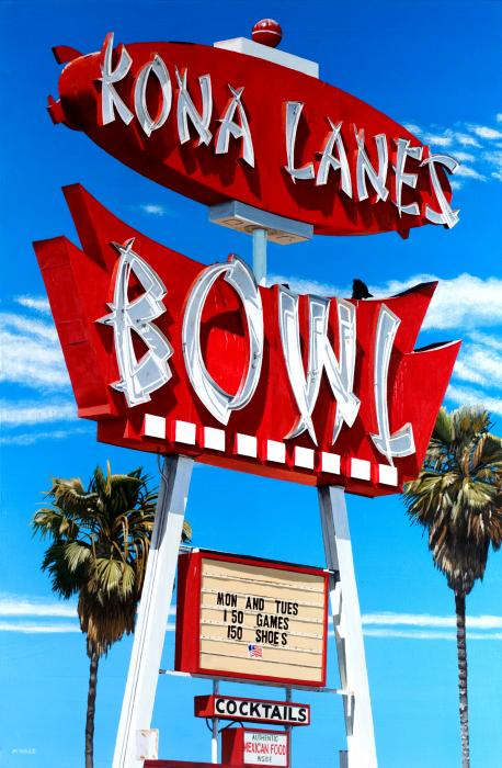 Kona Lanes Painting 