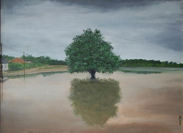 Kishor Raja - KR 374 My reflection and me