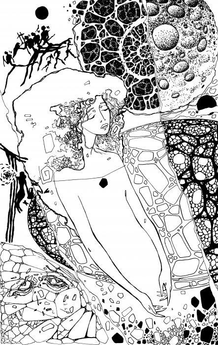 La 1 Print by Valeriy Mavlo
