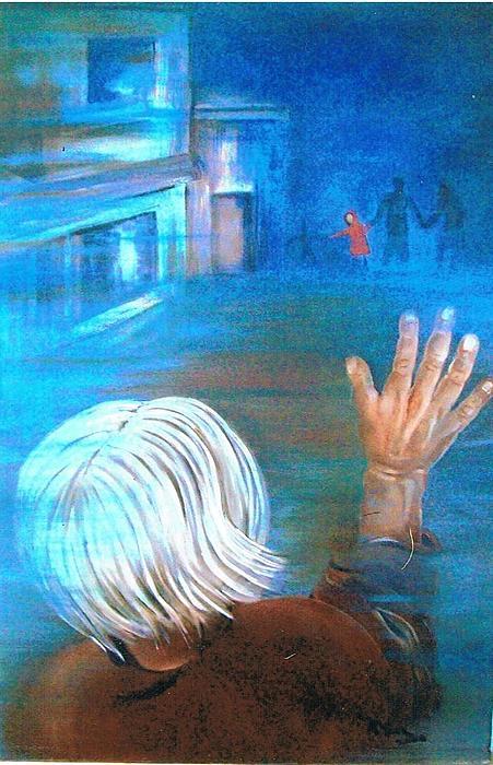 La Despedida Print by Maria Leon-Ortiz