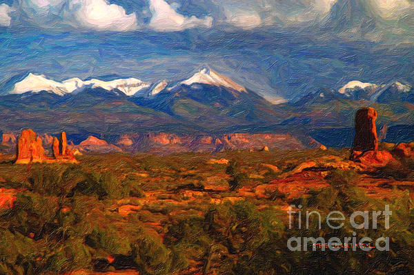 Stephen Lawrence Mitchell - La Sal Range