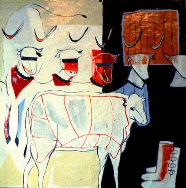 Sue Karnet - La Vache Qui Rit Or Montana Ennuie