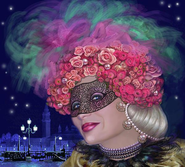 Svetlana Nassyrova - Lace mask