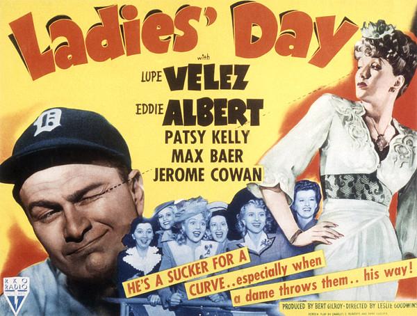 Ladies Day, Eddie Albert, Patsy Kelly Print by Everett
