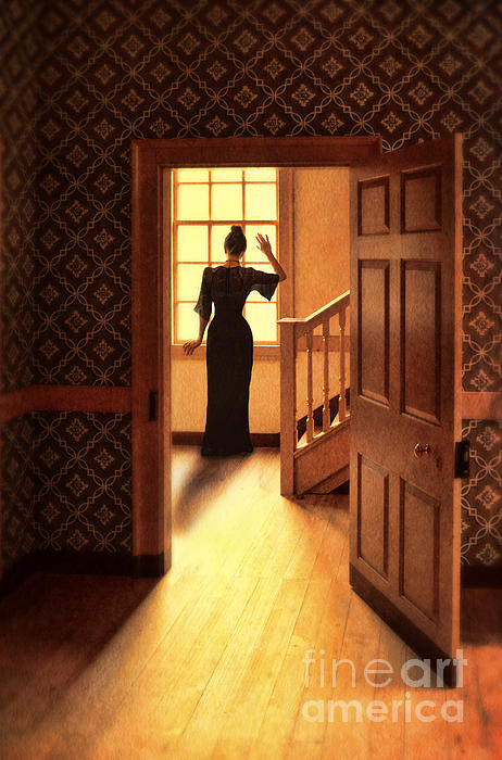 Jill Battaglia - Lady at Window