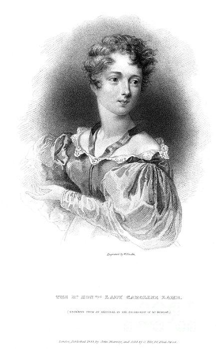 Lady Caroline Lamb Print by Granger