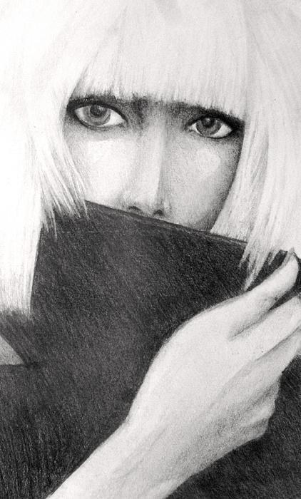 Lady Gaga Print by Melissa Cabigao
