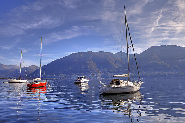 Lago Maggiore Print by Joana Kruse