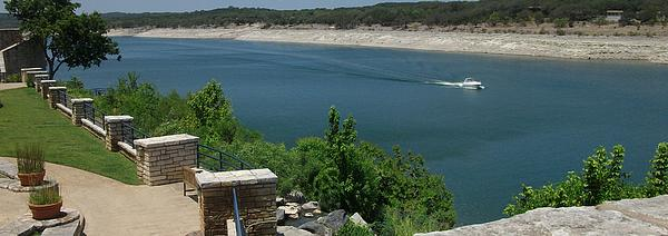 Lago Vista Texas Lake Travis Print by Elizabeth Sullivan