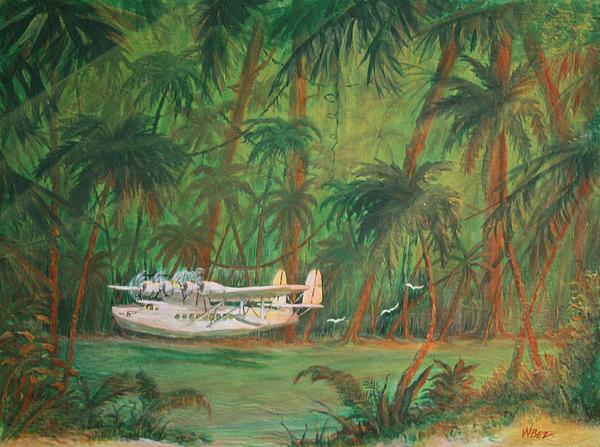 Lagoon Landing Print by William Bezik