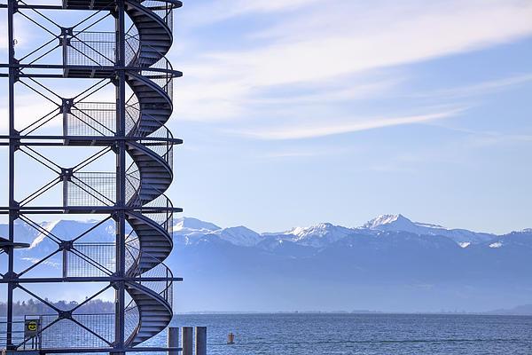 Lake Constance Friedrichshafen Print by Joana Kruse