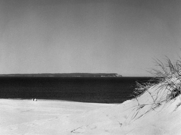 Lake Michigan Shoreline Manitoulin Island Print by Richard Singleton