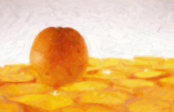 Fotios Pavlopoulos - Lake of oranges