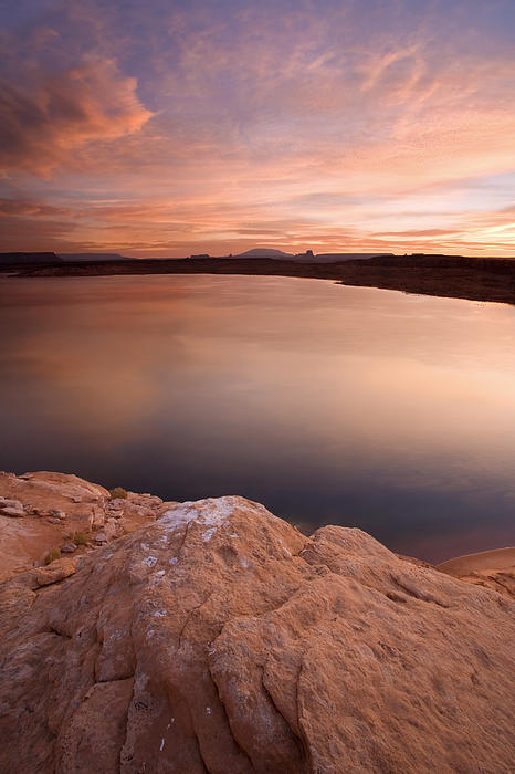 Lake Powell Dawn Print by Mike  Dawson