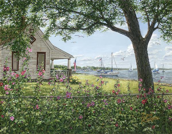 Lake Somewhere Print by Doug Kreuger
