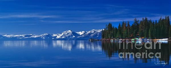 Lake Tahoe Reflections Print by Vance Fox