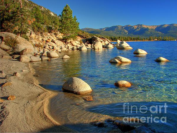 Lake Tahoe Tranquility Print by Scott McGuire