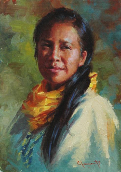 Lakota Woman by Jim Clements