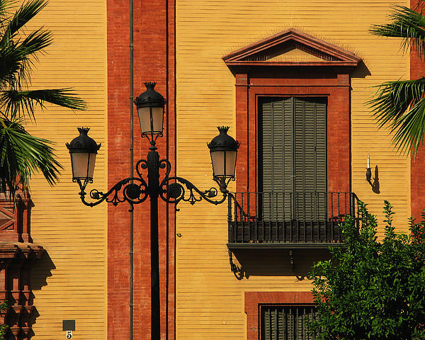 Greg Matchick - Lamp and Window in Sevilla Spain