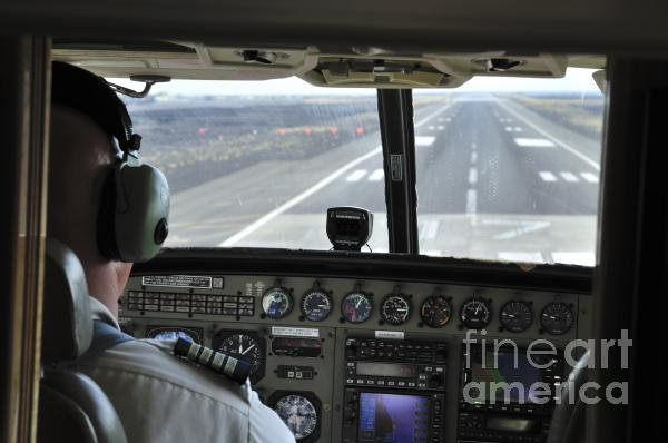 Landing At Kona Photograph  - Landing At Kona Fine Art Print
