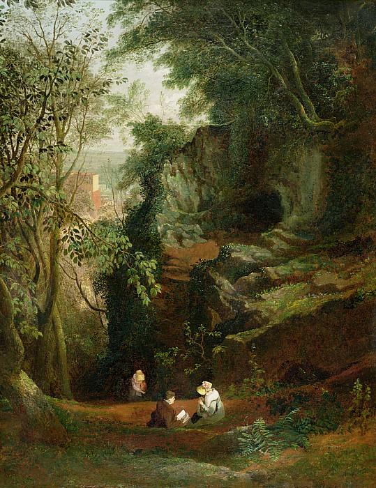 Landscape Near Clifton Print by Francis Danby