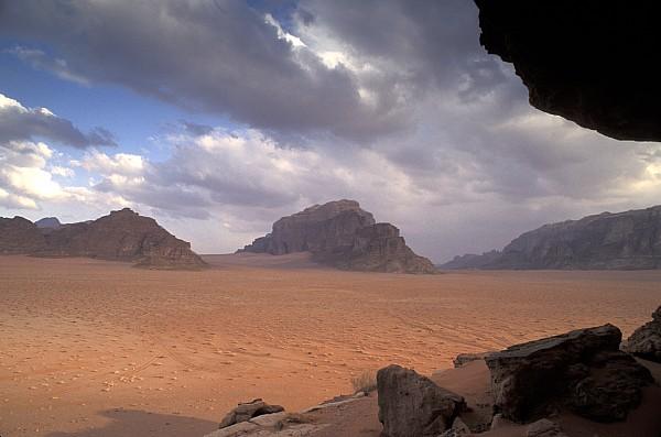 Landscape Of The Desert Print by Richard Nowitz