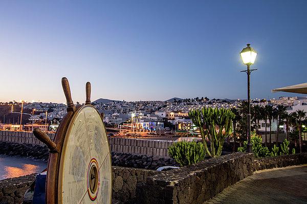 Lanzarote , Canary Islands, Spain Print by Travelstock44 - Juergen Held