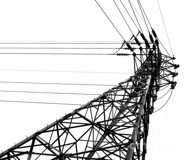 Large Powermast Print by Yali Shi