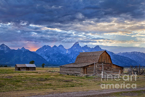 Matt Suess - Last rays of sunlight at Grand Teton National Park