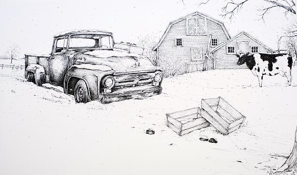 Late Season Apples Print by Scott Nelson