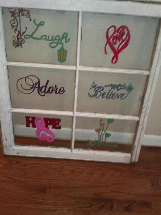 Courtney  Slatick - Laugh Love Adore Believe Hope Strength