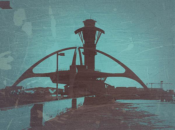 LAX Print by Naxart Studio