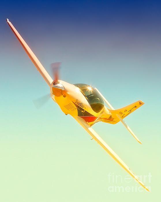 Lee Behel And Race 5 Breathless 2010 Reno Air Races Print by Gus McCrea