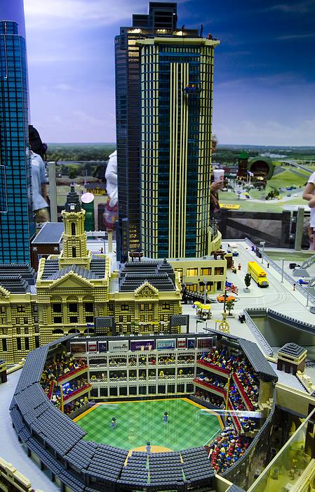 Legoland Dallas I Print by Ricky Barnard