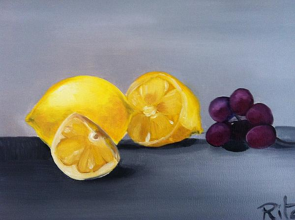 Rita Fernandes - Lemons and grapes