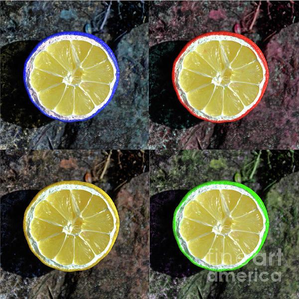 Lemons Print by Rob Hawkins