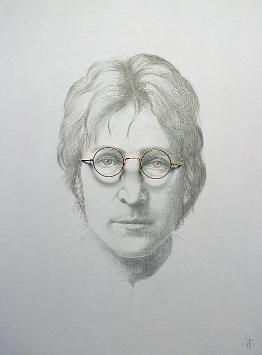 Lennon  Print by Trevor Neal