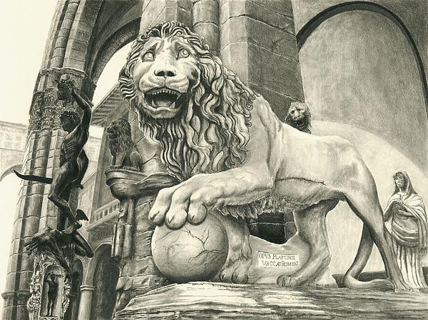 Leone Print by Norman Bean