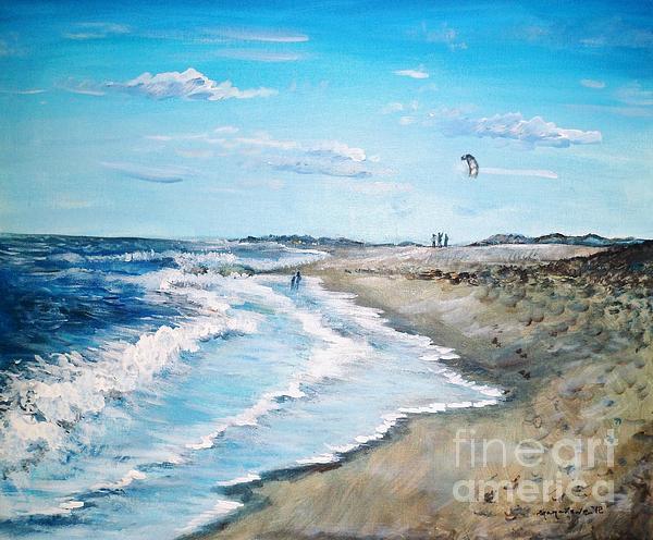 Lets Go Fly A Kite Print by Shana Rowe